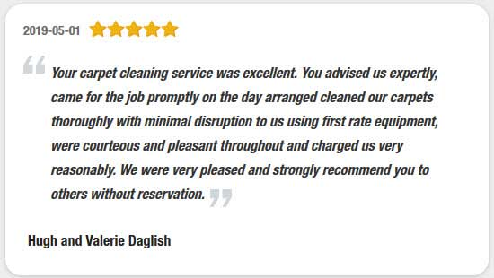 Carpet Cleaning Service Reviews