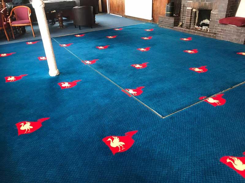 Hoylake Sailing Club Carpet Cleaned